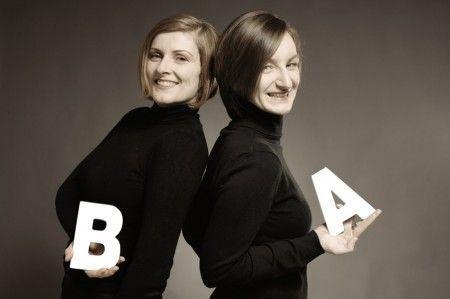 Barbara Dechant y Anja Schulze