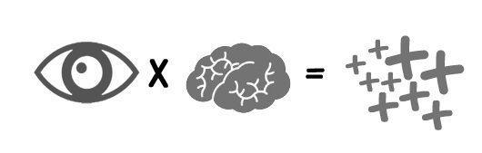 Transmitir información al cerebro mediante lo visual
