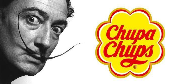 El logo de Chupa Chups por Salvador Dalí