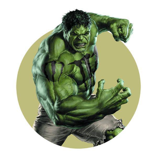 Hulk y la bebida energética Monster