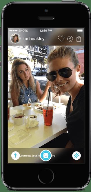Shots, las apps sociales de selfies están de moda