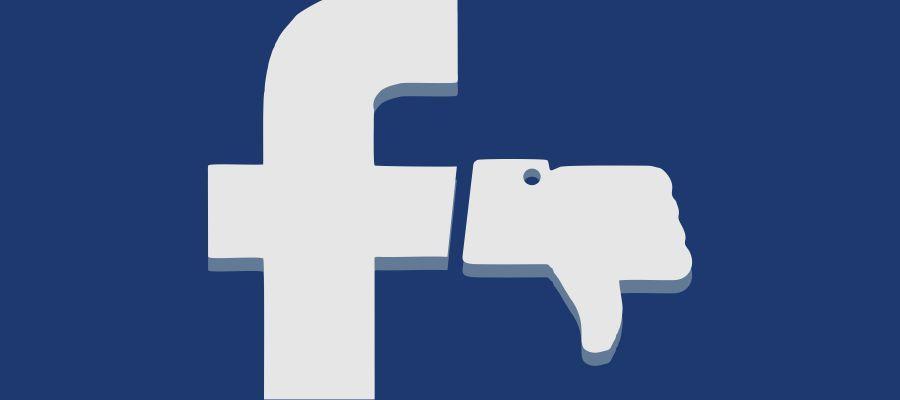 Publicaciones en Facebook afectadas por el nuevo algoritmo.