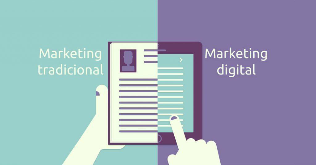 Marketing digital contra marketing tradicional